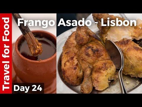 Flying on TAP Portugal and Roast Chicken (Frango Assado) - Lisbon, Portugal, Travel Guide!