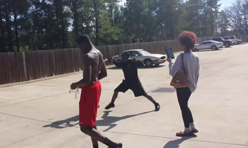 Hood Fight Bloody Knockout