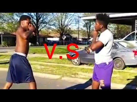 Hood Fight : Tray vs Tez