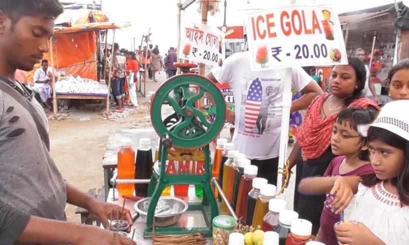 ICE GOLA @ 20 rs ( $ 0.29 )   New Digha Sea Beach West Bengal India