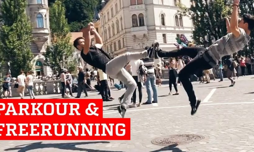 Incredible Parkour & Freerunning   People Are Awesome 2018