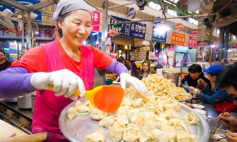 Korean Street Food - NETFLIX SEOUL - I Ate Everything From the Episode! | Gwangjang Market!