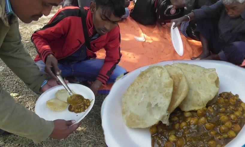 Luchi / Puri & Chana Masala   Sabuj Deep Picnic Spot West Bengal   Street Food Loves You