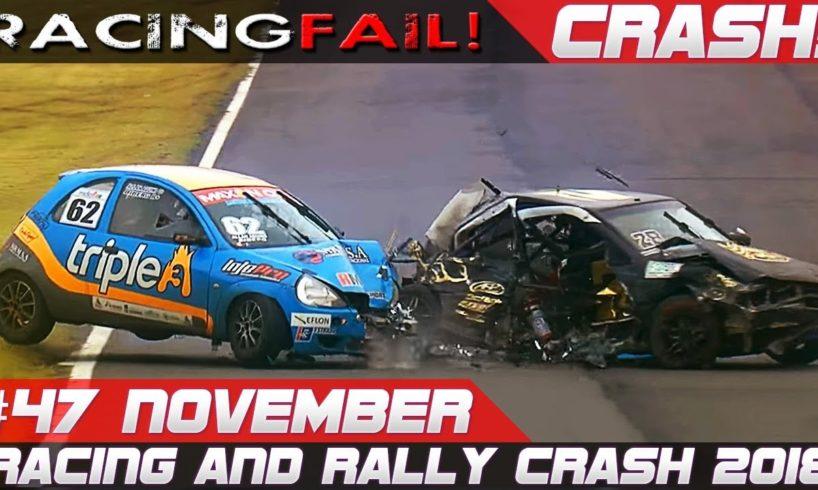 Macau GP Special Racing and Rally Crash Compilation | Fails of the Week 47 November 2018