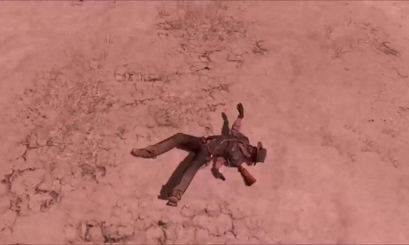 Red Dead Redemption Ragdoll/Jumps/Deaths/Falls Compilation