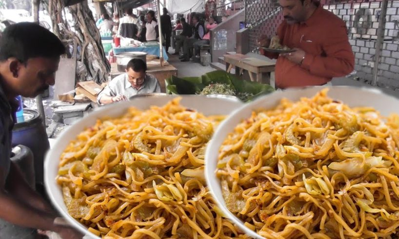 Veg Chow 20 Rs Per Plate | Chicken Chow 30 Rs | Who Want to Eat | Street Food Loves You