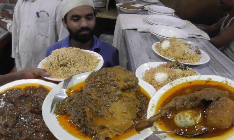 1 kg Full Spicy Chicken (Murgh Musallam) @ 510 rs - Special Mutton Biryani @ 365 rs -New Aliah Hotel