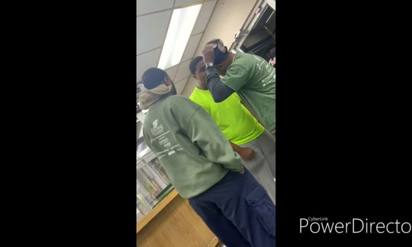 Best 1 vs 2 hood fight of the year???he threw hammers