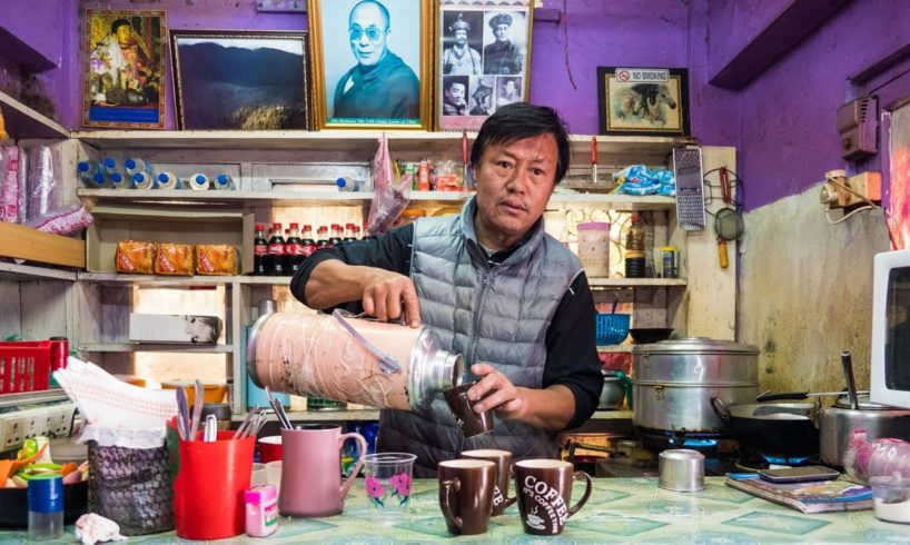 Bhutanese Tibetan Street Food in Thimphu, Bhutan - TIBETAN UNCLE! (Day 11)