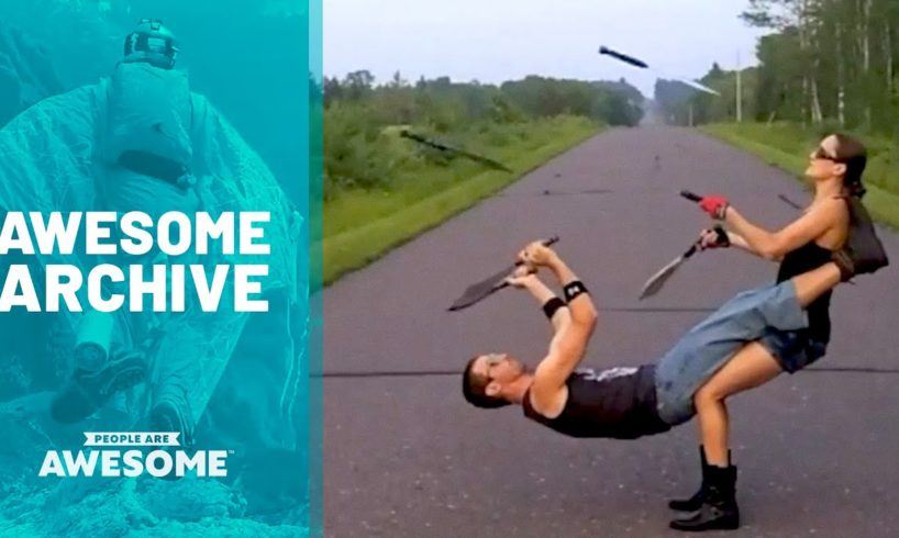 Blade Tricks, Basketball Skills, Circus Arts & More | Awesome Archive