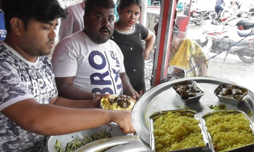 Dad & Two Brothers Maintained All - Mantu Dar Biryani - Fried Rice with Duck Curry @ 150 rs Plate
