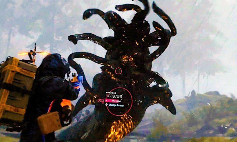 Death Stranding Gameplay (ALL Footage So Far)