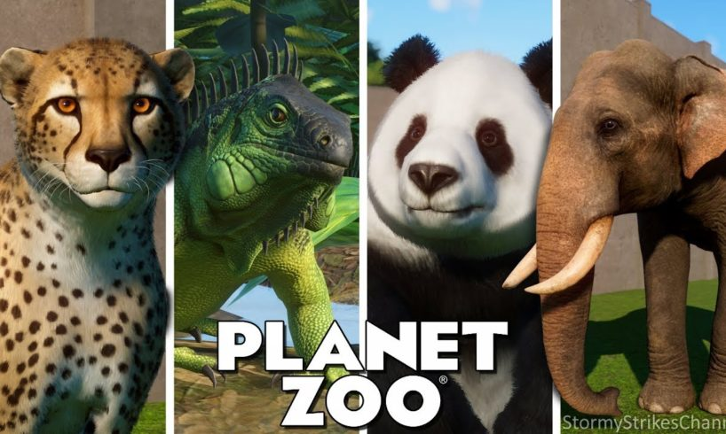Every Single Animal in Planet Zoo || ALL 70+ ANIMALS!