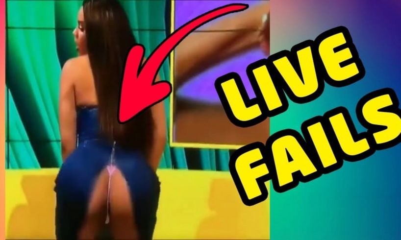 FAILS and BLOOPERS ON LIVE ?
