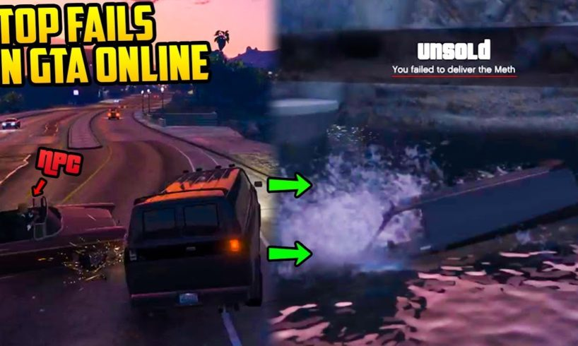 GTA ONLINE - TOP 10 FAILS OF THE WEEK [Ep. 72]