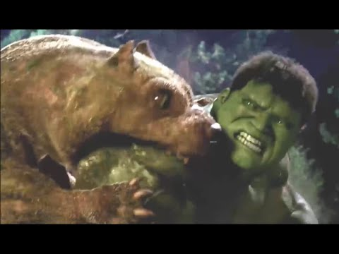 Hulk vs Monster Dogs - Fight Scene HD