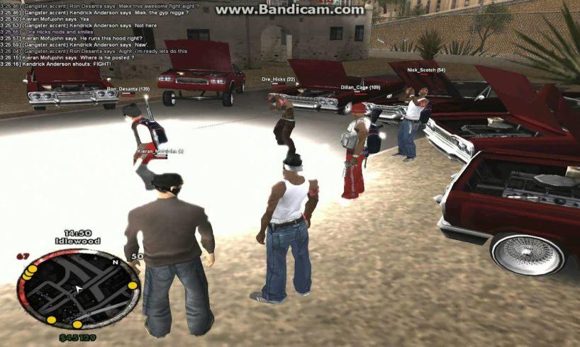 [NGRP] - 25th Piru Park Bloods - Hood fights