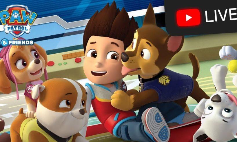 PAW Patrol Cartoons 24/7 LIVE NOW! ? Rescue Episode Marathon!