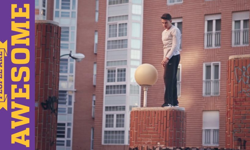People are Awesome: Cosmin Marius (Parkour)