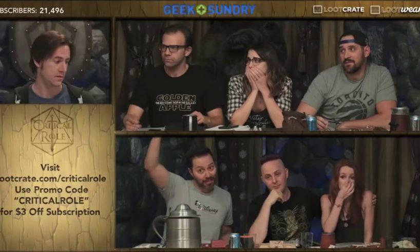 Percy's first death [Critical Role 1x68]