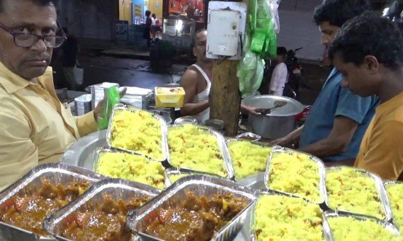Pulao Biryani with Mutton Kasha (130 rs)/Chicken Kasha (100 rs) -Best Dinner in Agartala Tripura