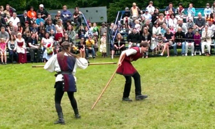 Robin In The Hood Fights - Joseph vs. Dame Roselyn
