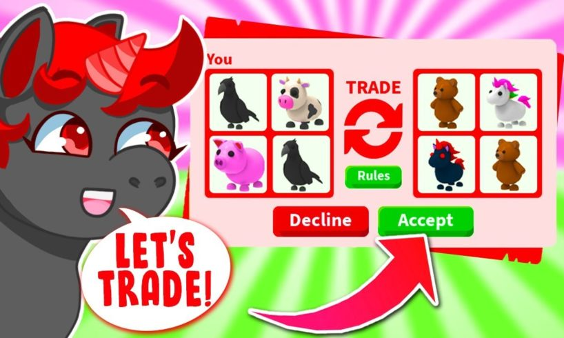 Trading Farm Egg Animals ONLY In Adopt Me! (Roblox)