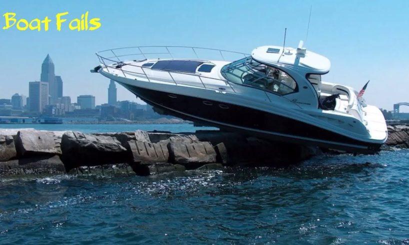 Ultimate Boat WRECK/CRASH Fails Compilation 2019