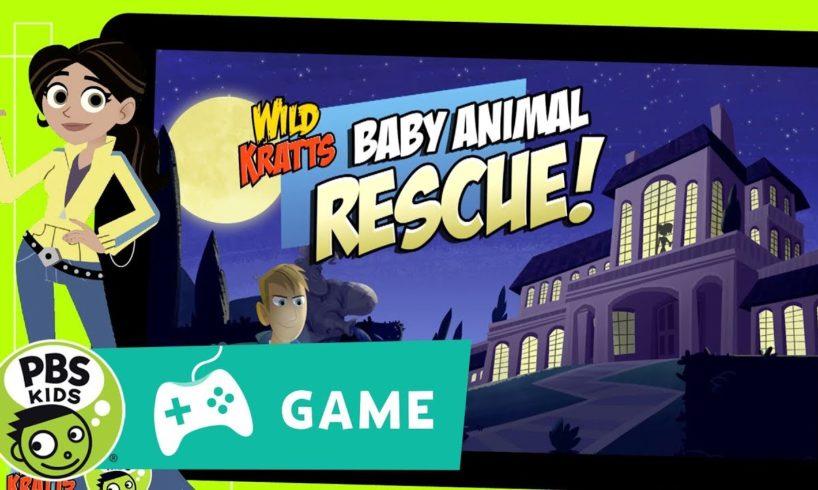 WILD KRATTS | Baby Animal Rescue Game Trailer | PBS KIDS