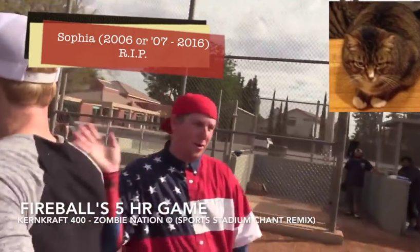 dodgerfilms Softball Series Home Run Compilation Off-Season #2 w/ AM
