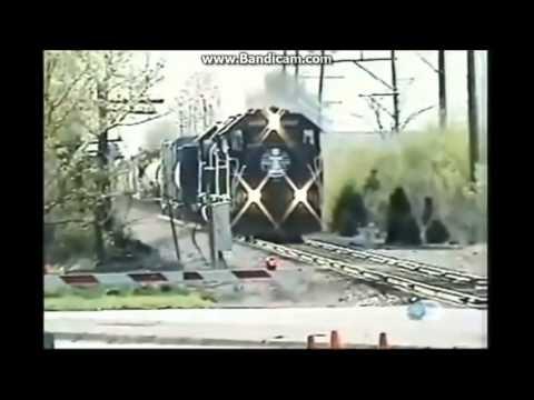 train crash   near miss compilation 2