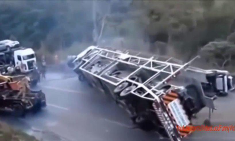 New car crash compilation! Dashcam/car accidents!