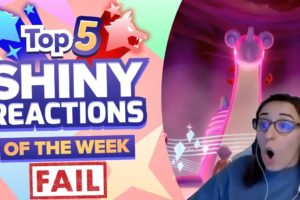 TOP 5 SHINY FAILS OF THE WEEK! Pokemon Sword and Shield Shiny Montage! Episode 11