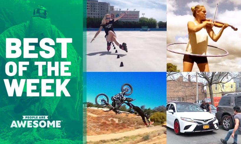Best of the Week: Slalom Skating & Barbell Handstands | People Are Awesome
