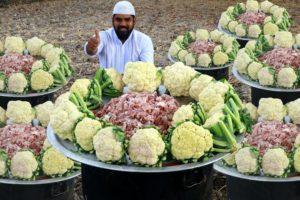 Delicious Mutton & Cauliflower Curry | Gobhi Gosht Recipe |Nawabs
