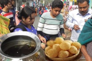 Who Want to Eat Pani Puri /Fuchka - Most Wanted Street Food in India
