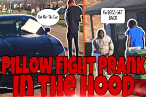 PILLOW FIGHTING IN THE HOOD 🤜🏾 | *Gone Wrong* 🔫 |