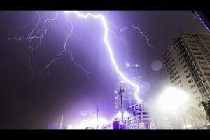 Amazing Lightning Strike COMPILATION!