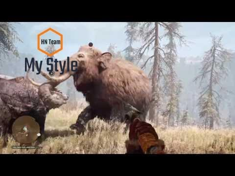 FAR CRY PRIMAL ANIMAL FIGHTS MONTAGE!
