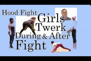 Hood Fight: Girls Twerk During and After Fight