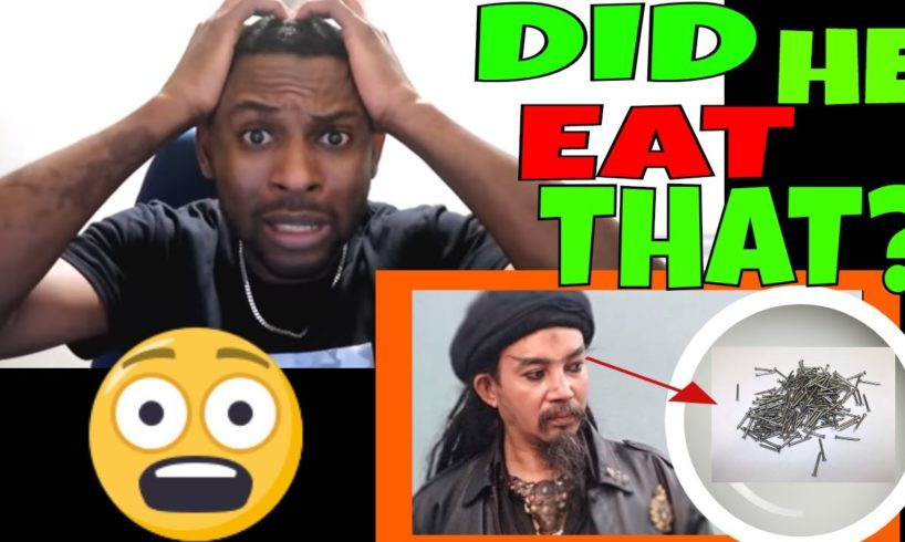 Indonesian Jack Sparrow - EATING NAILS?? PEOPLE ARE AWESOME! | Master Limbad REACTION