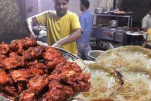 Full Chicken Fry @ 280 rs - Opposite Iqra Masjid Ranchi - Indian Street Food