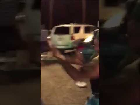 Girl gets hair pulled out face beat up (Chicks Hood Fight)