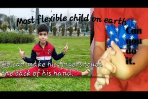 People are awesome.His fingers is more flexible than him.