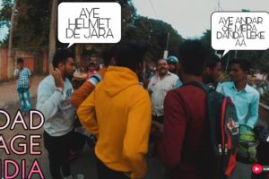 Road Rage India | Near Death Accident | Angry Pedestrians Fighting With Biker