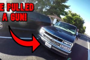 Crazy Road Rage Encounter. He Pulled A Gun And Chased Us!
