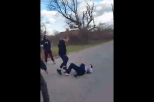 STREET FIGHT ( CANCER SURVIVOR KNOCKS A GUY OUT) SUBSCRIBE!! #Drexel #Dayton #Ohio