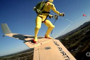 Wingboarding - the next extreme sport in the sky