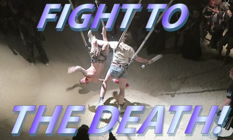 A FIGHT TO THE DEATH!