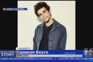 Disney Star Cameron Boyce Dies In His Sleep At Age 20